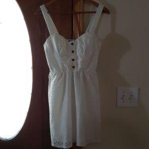 White midi Dress Size M